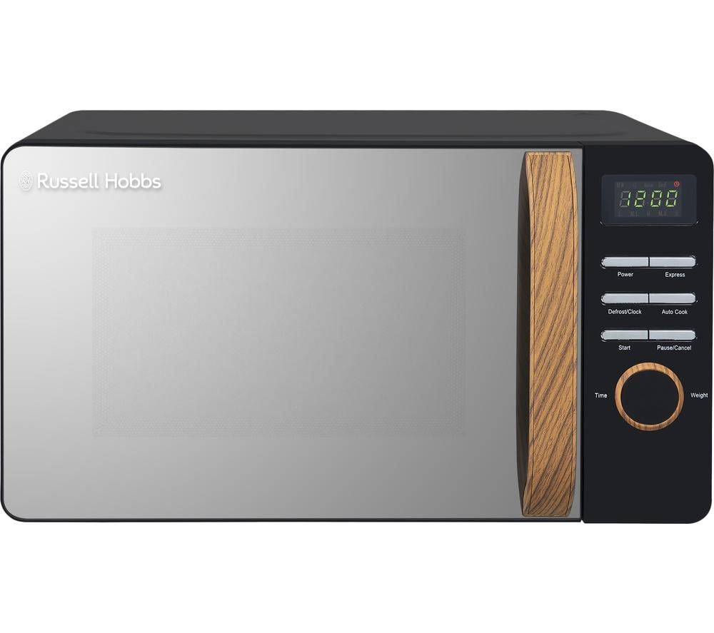 RUSSELL HOBBS Scandi RHMD714B-N Compact Solo Microwave - Black
