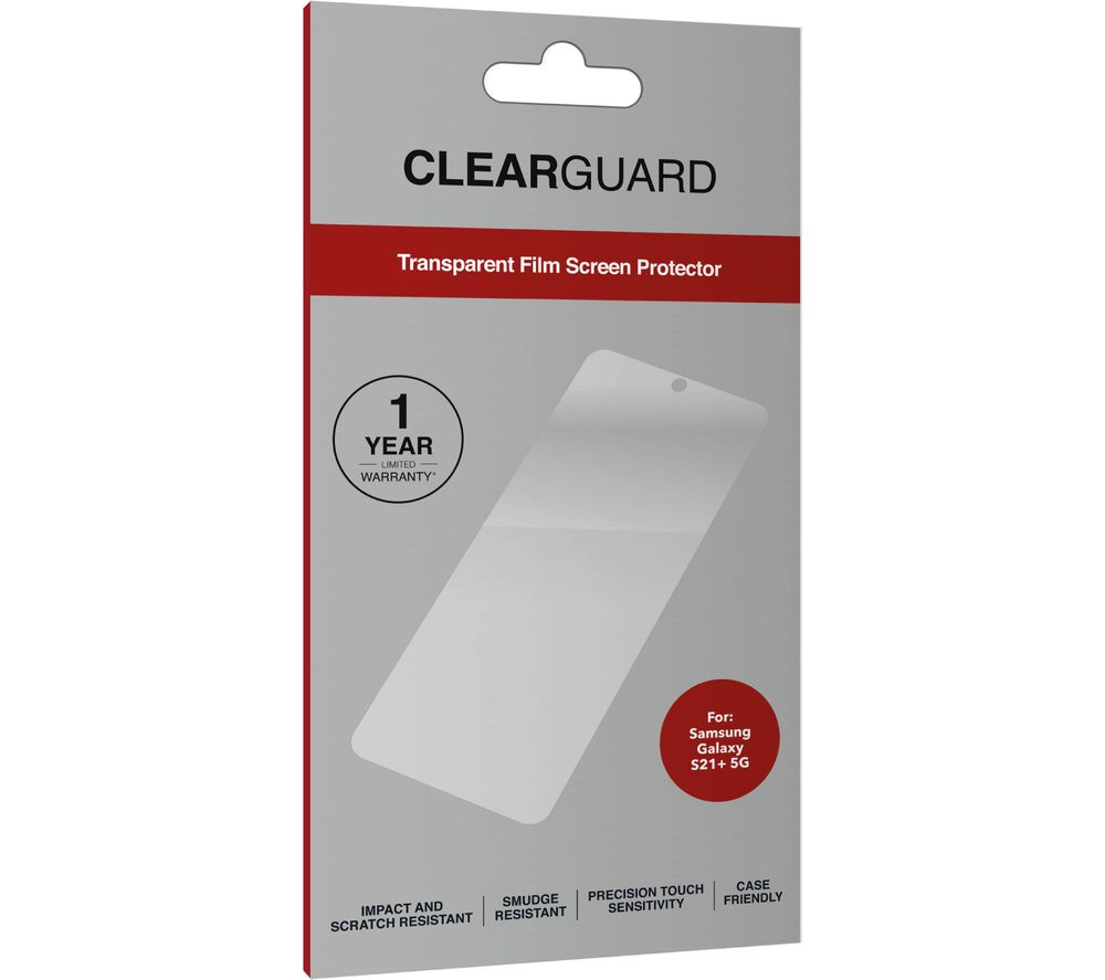 Zagg Clearguard Samsung Galaxy S21 Plus Screen Protector