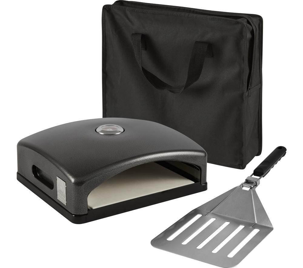 TOWER Pizzazz Grill Top Pizza Oven - Black, Black
