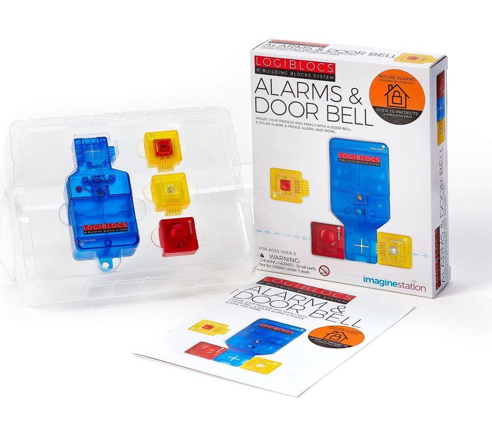 LOGIBLOCS Alarms & Door Bell Science Kit