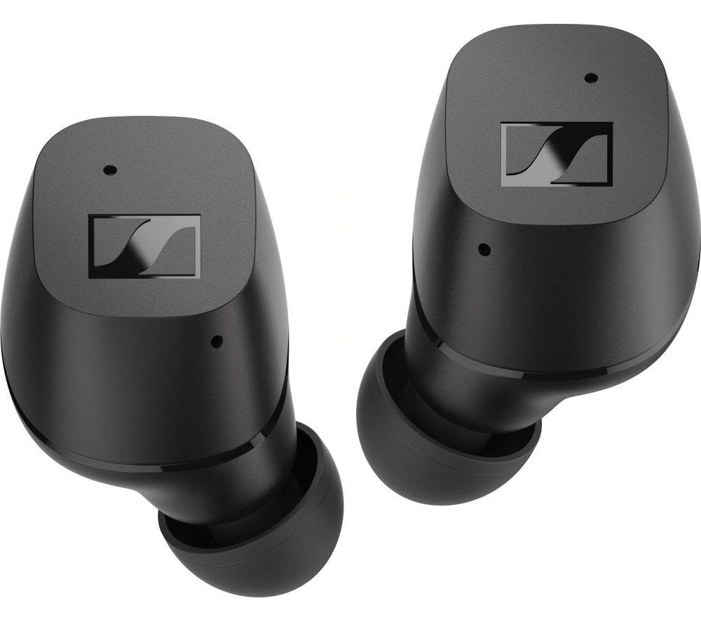 SENNHEISER SNN CX TW Wireless Bluetooth Earbuds - Black