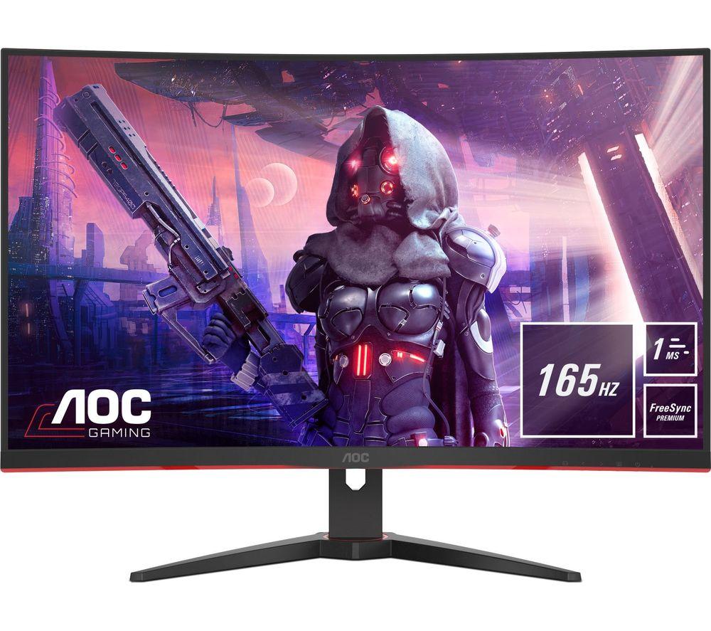 """AOC C32G2AE/BK Full HD 31.5"""" Curved LED Gaming Monitor - Black"""
