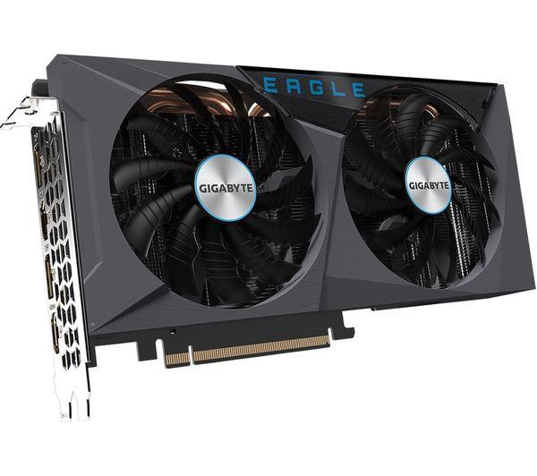 Image of GIGABYTE GeForce RTX 3060 Ti 8 GB EAGLE OC V2 LHR Graphics Card