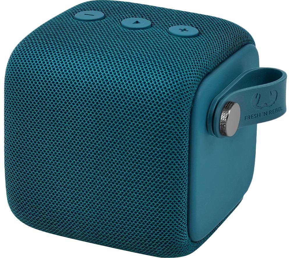 FRESH N REBEL Rockbox Bold S Portable Bluetooth Speaker - Petrol Blue