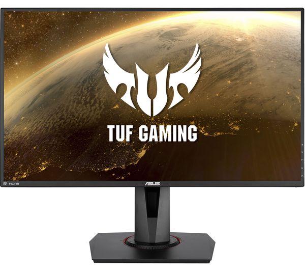 """ASUS TUF VG279QM Full HD 27"""" IPS Gaming Monitor - Grey"""