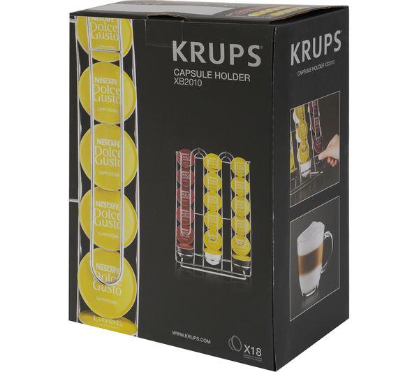 Buy Krups Xb201000 Dolce Gusto Pod Holder Chrome Free