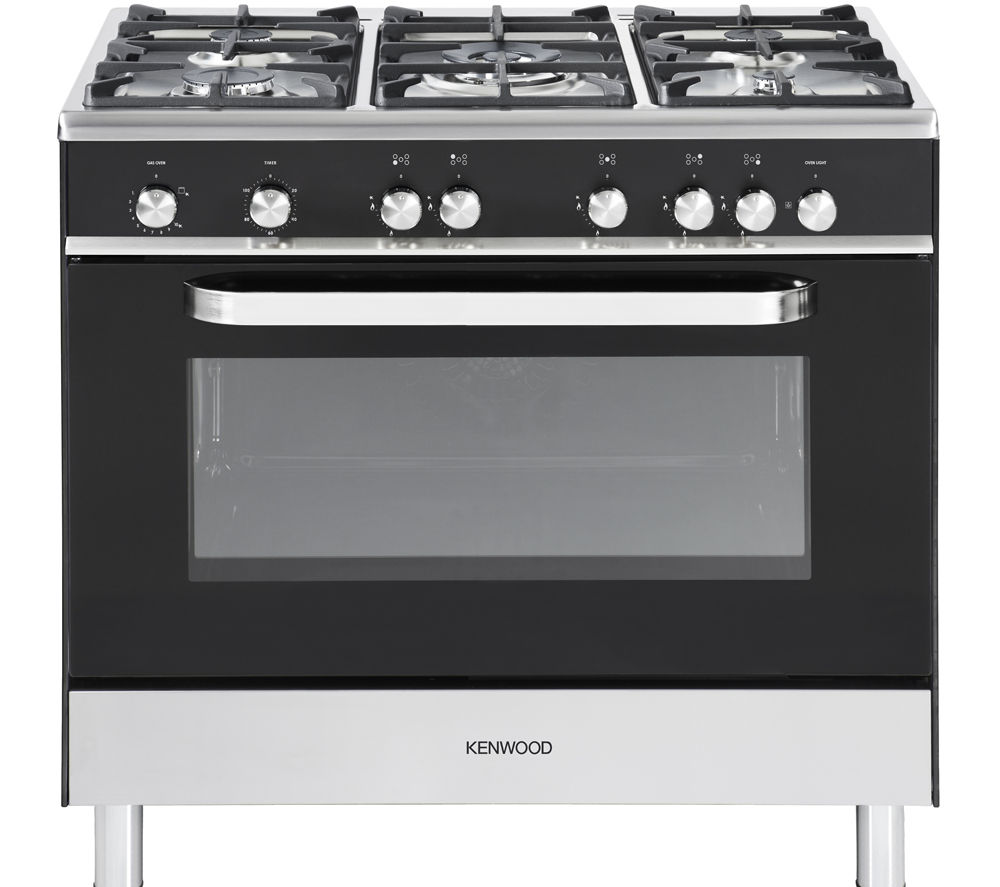 buy kenwood ck305g gas range cooker black free. Black Bedroom Furniture Sets. Home Design Ideas