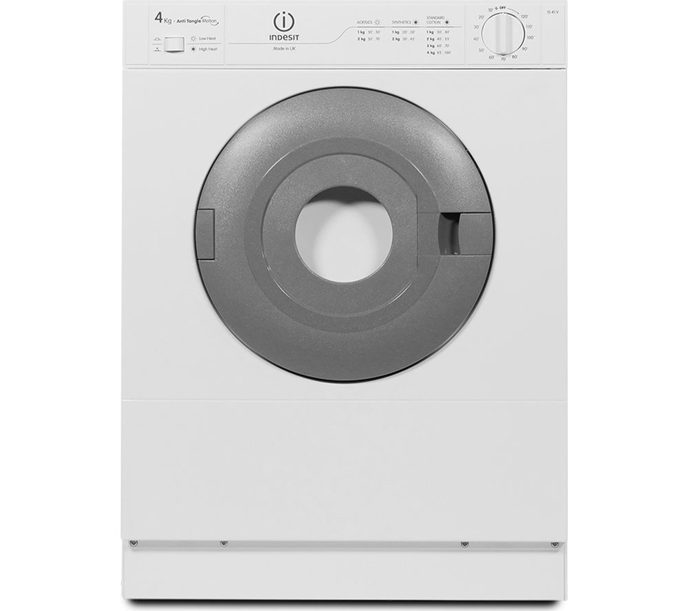 INDESIT IS41VUK Vented Tumble Dryer - White