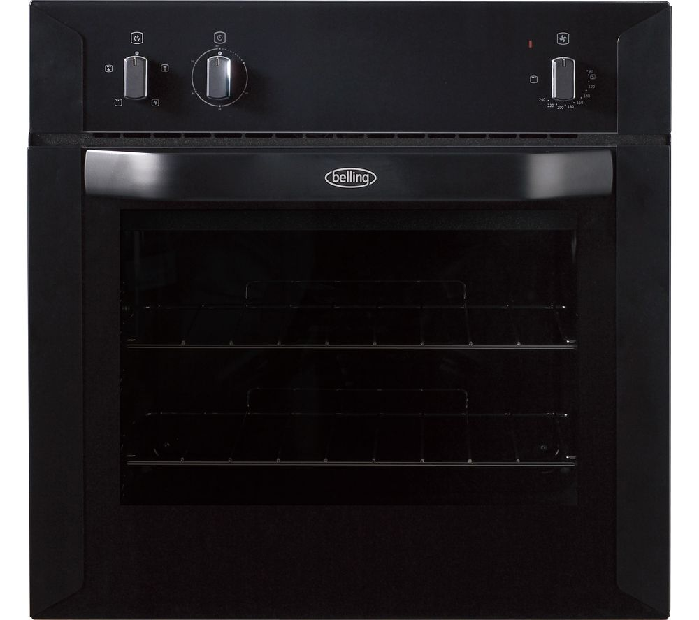 BELLING BI60F Electric Oven - Black