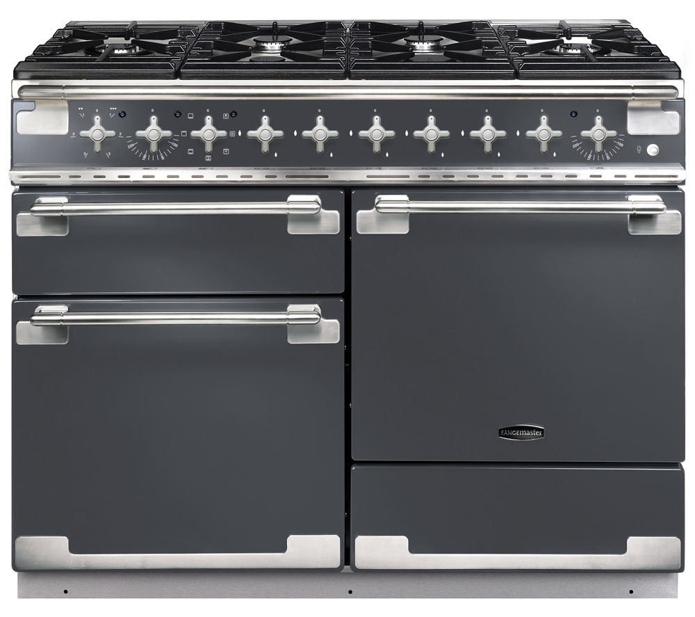 buy rangemaster elise 110 dual fuel range cooker slate. Black Bedroom Furniture Sets. Home Design Ideas
