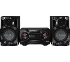 PANASONIC SC-AKX200E-K Wireless Megasound Hi-Fi System - Black