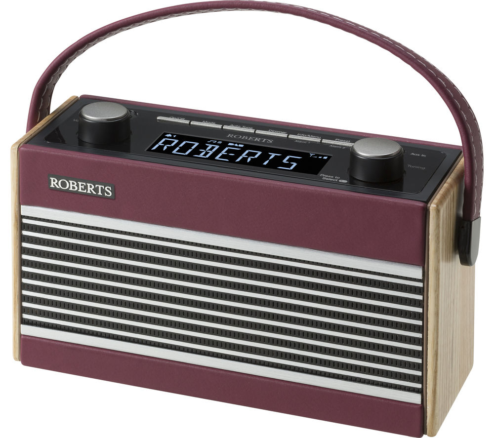 buy roberts rambler portable dab fm clock radio. Black Bedroom Furniture Sets. Home Design Ideas