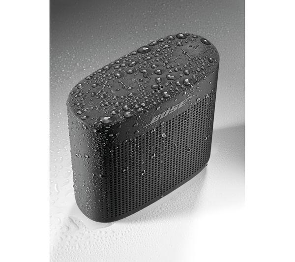 bose soundlink color ii portable bluetooth wireless speaker black