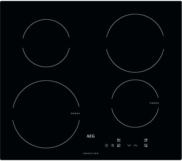 Image of AEG HK604200IB Electric Induction Hob - Black