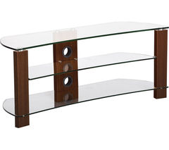Vision Curve 1200 TV Stand - Walnut