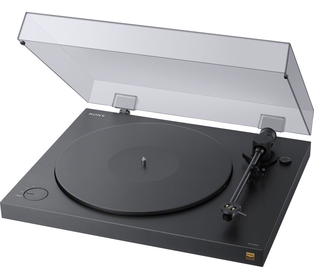 SONY PS-HX500 Belt Drive Turntable - Black