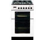 BAUMATIC BCG520W Gas Cooker - White
