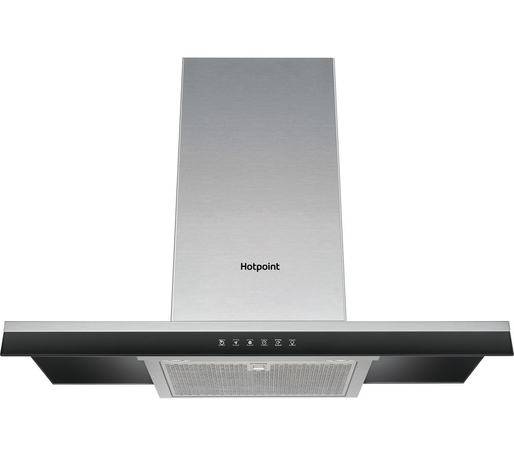 HOTPOINT PHBG9.8LTSIX Chimney Cooker Hood - Stainless Steel