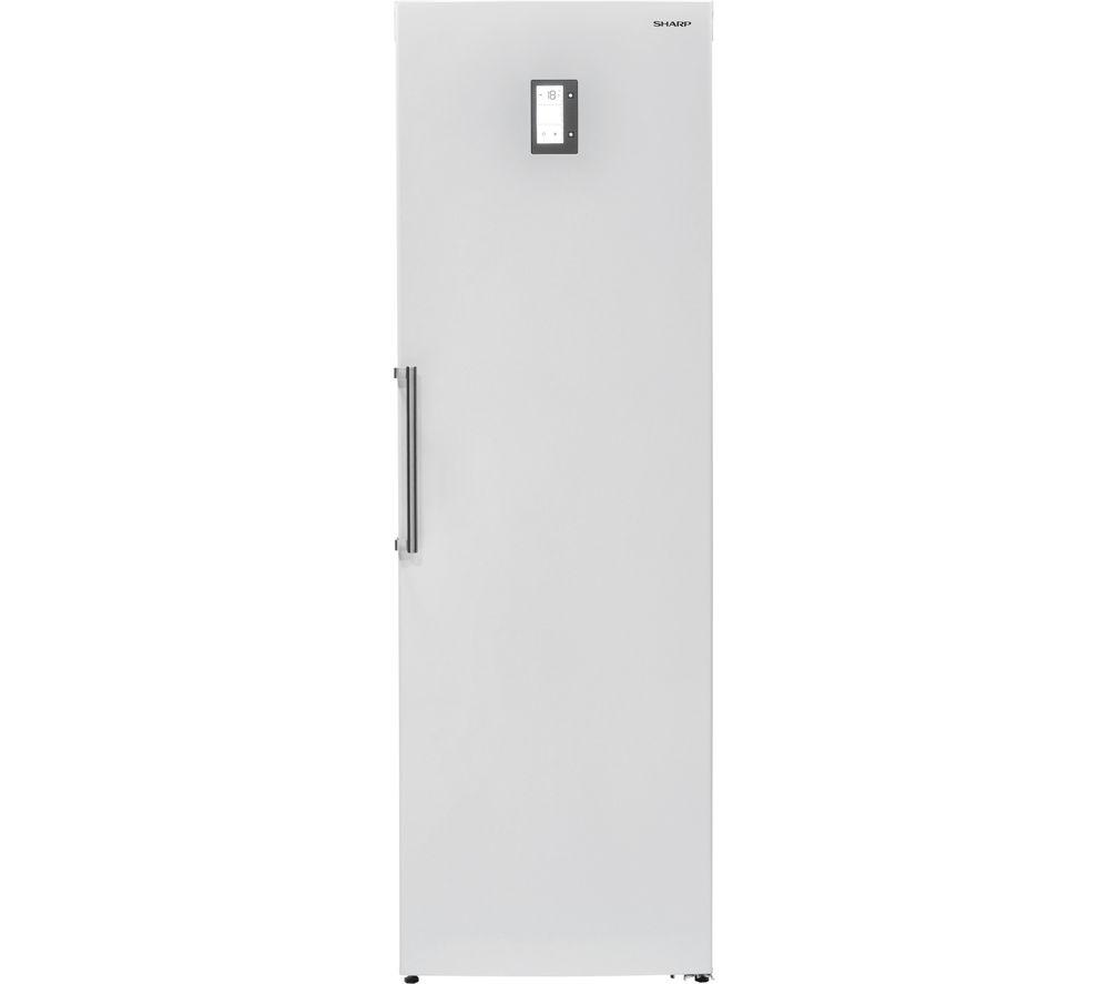 SHARP SJ-S1251E0W Tall Freezer - White