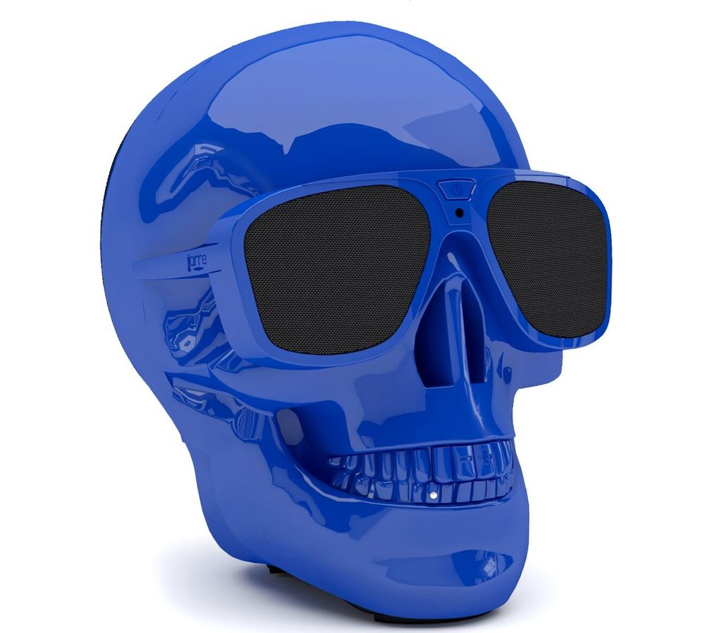 JARRE AeroSkull XS + Portable Wireless Speaker - Blue