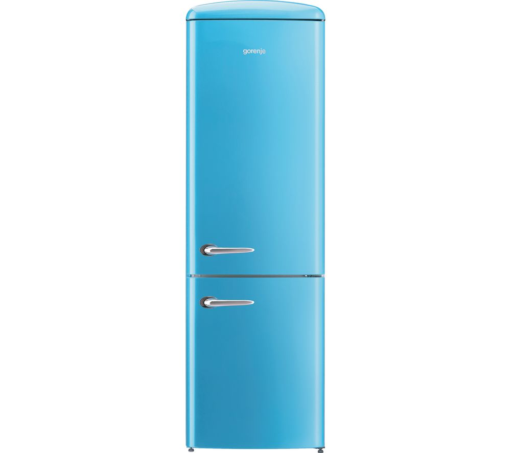 GORENJE ONRK193BL Fridge Freezer - Baby Blue