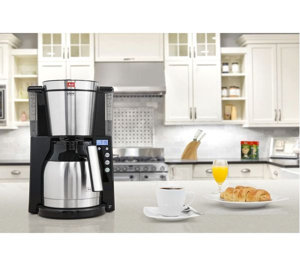 Buy Melitta Look Iv Therm Timer Filter Coffee Machine Black