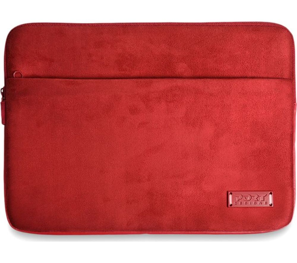 "PORT DESIGNS Milano 14"" Laptop Sleeve - Red"