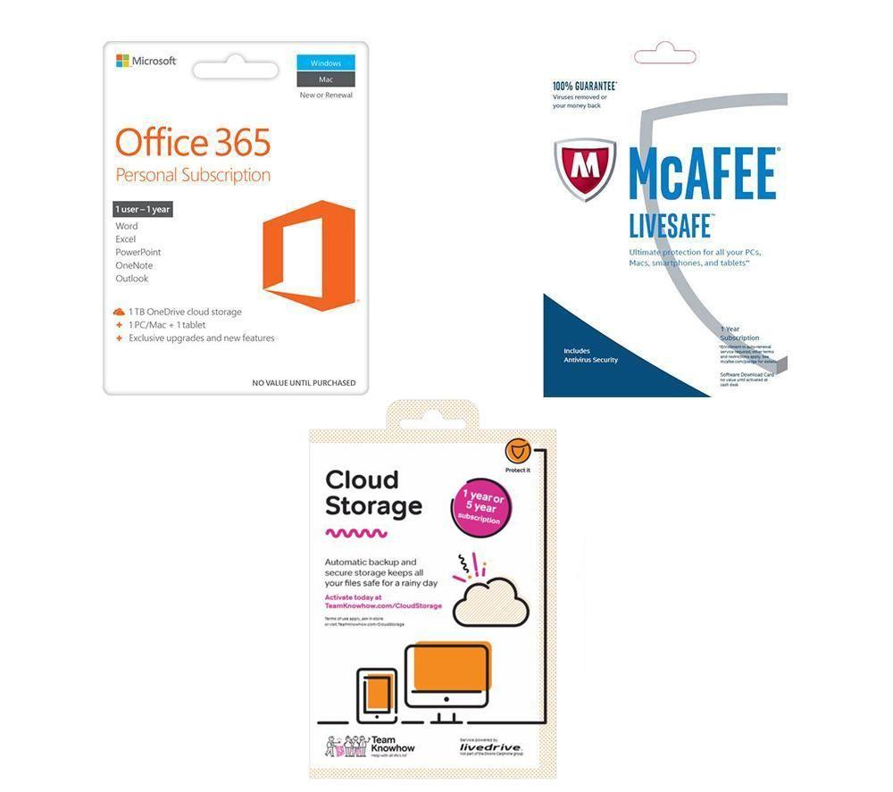 MICROSOFT Essentials Bundle