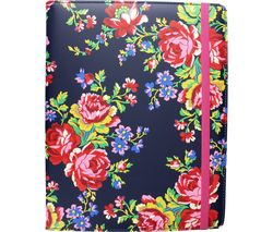 "ACCESSORIZE Navy Rose 8"" Tablet Case"
