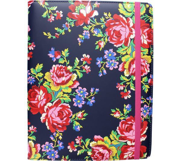"""Image of ACCESSORIZE Navy Rose 8"""" Tablet Case"""