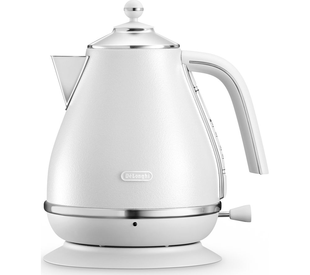 DELONGHI Elements KBOE3001.W Jug Kettle - White