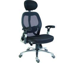 TEKNIK Cobham OA1013BLK Mesh Reclining Executive Chair - Black