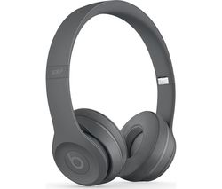 BEATS Solo 3 Neighbourhood Wireless Bluetooth Headphones - Asphalt Grey