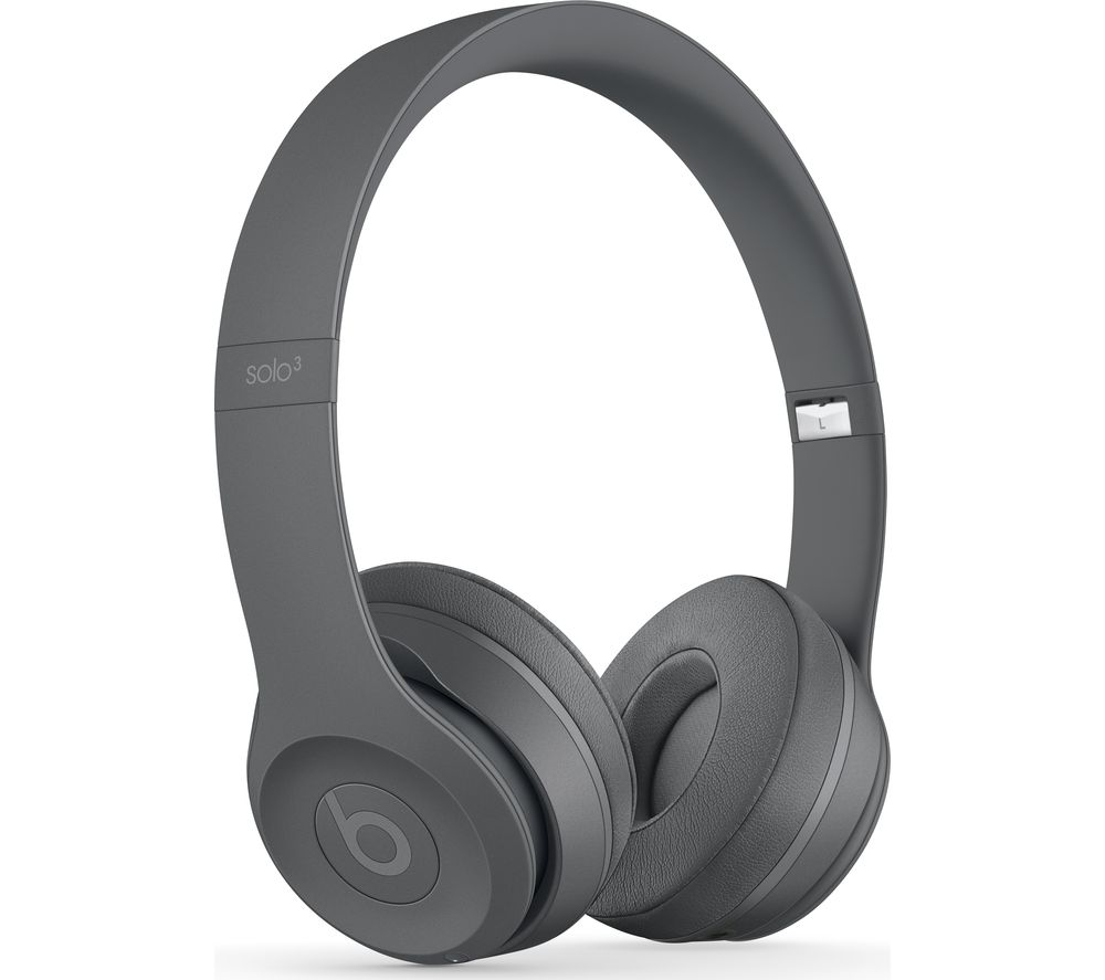 Compare retail prices of Beats Solo 3 Neighbourhood Wireless Bluetooth Headphones - Grey to get the best deal online
