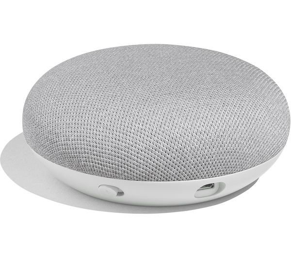 Buy Google Home Mini Chalk Free Delivery Currys
