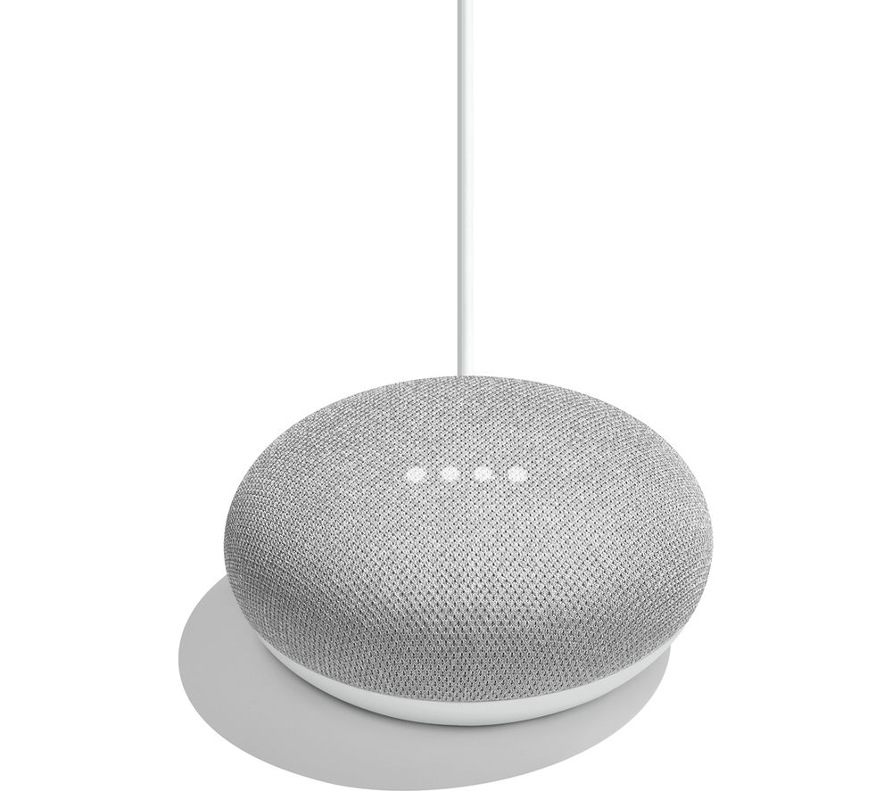 buy google home mini chalk free delivery currys. Black Bedroom Furniture Sets. Home Design Ideas