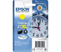 EPSON Alarm Clock 27XL Yellow Ink Cartridge