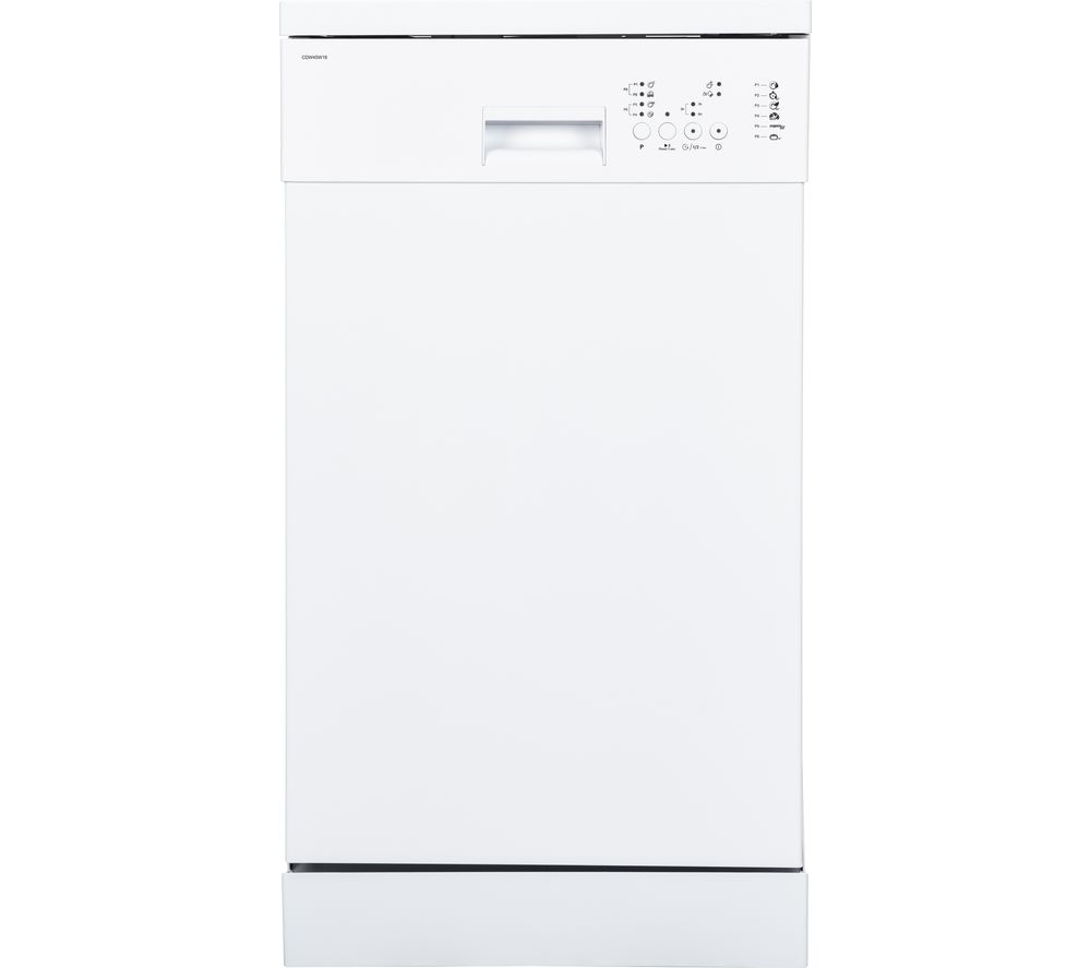 Buy ESSENTIALS CDW45W18 Slimline Dishwasher - White | Free Delivery