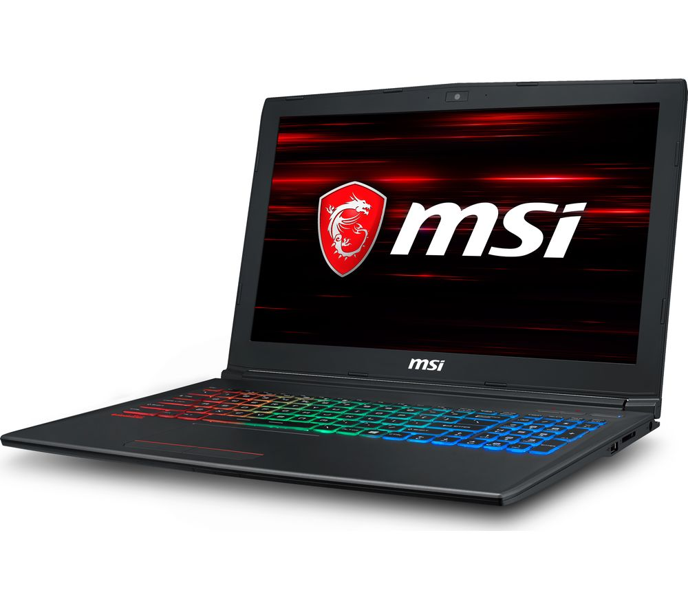 """MSI GF62 15.6"""" Intel® Core™ i5 GTX 1050 Ti Gaming Laptop - 1 TB HDD & 128 GB SSD"""