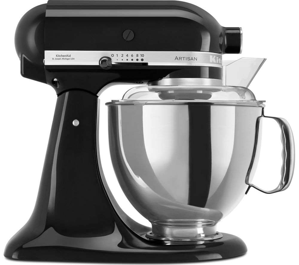 Image of KITCHENAID Artisan 5KSM175PSBMY Stand Mixer - Onyx Black, Black