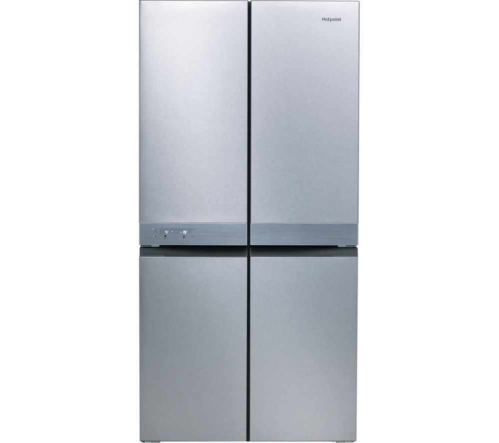 HOTPOINT Active Quattro HQ9 E1L Fridge Freezer - Stainless Steel