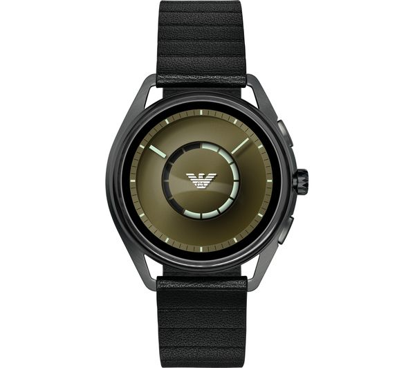 Image of EMPORIO ARMANI ART5009 Smartwatch - Gunmetal & Black