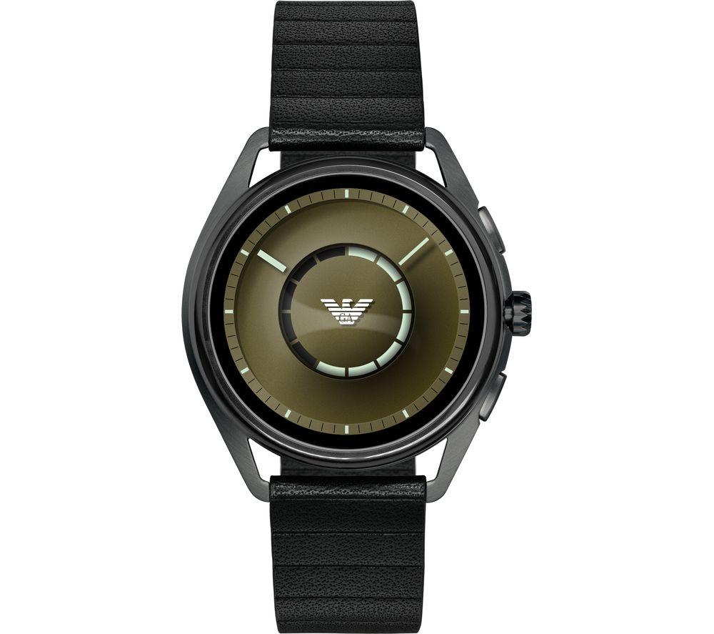 EMPORIO ARMANI ART5009 Smartwatch - Gunmetal & Black