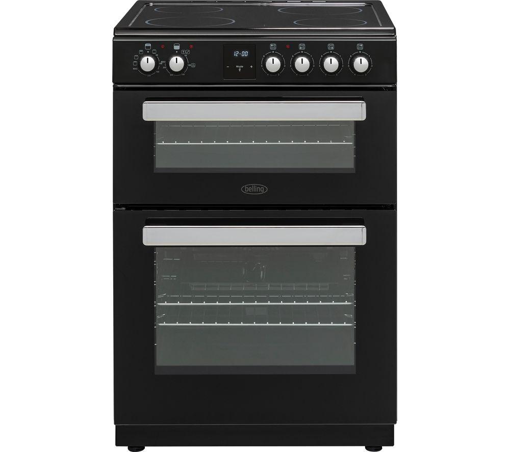 BELLING FSE608DPc 60 cm Electric Ceramic Cooker - Black