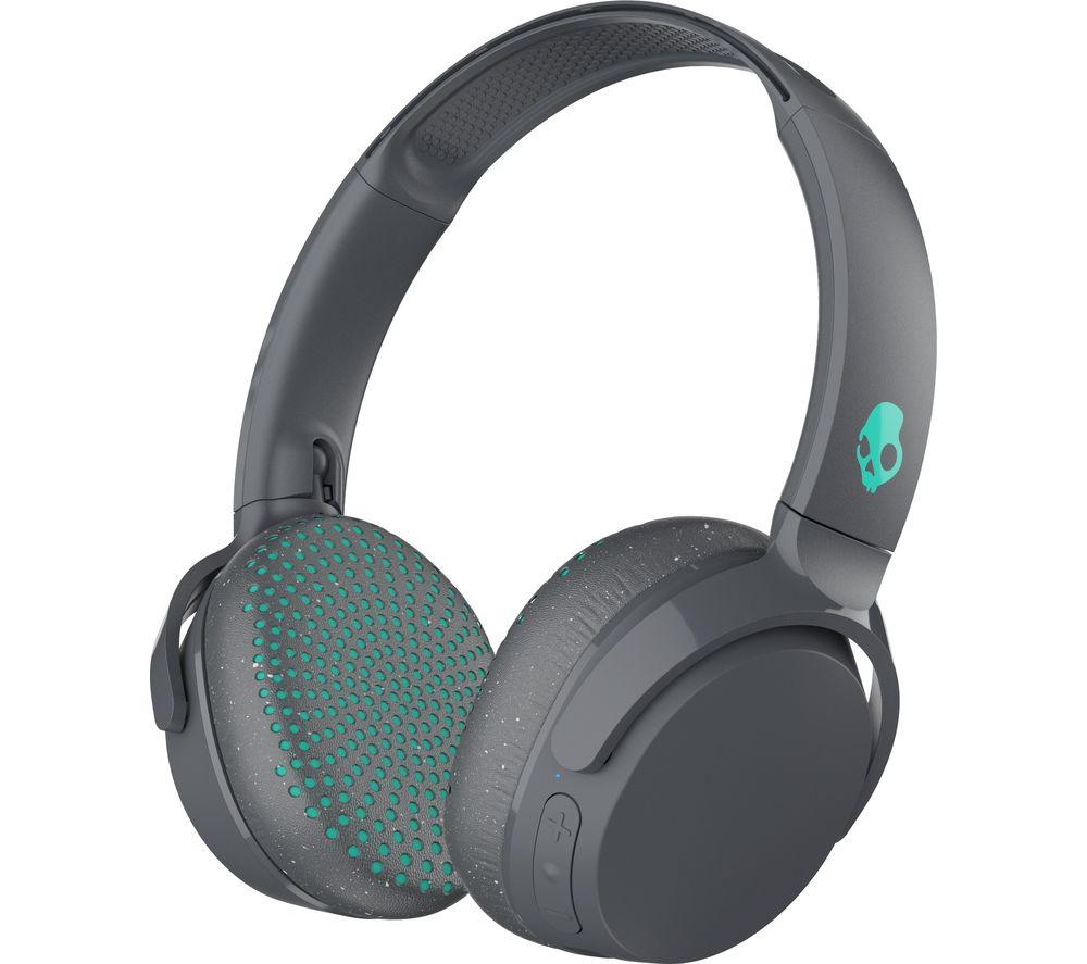 SKULLCANDY Riff S5PXW-L672 Wireless Bluetooth Headphones - Grey, Speckle & Miami