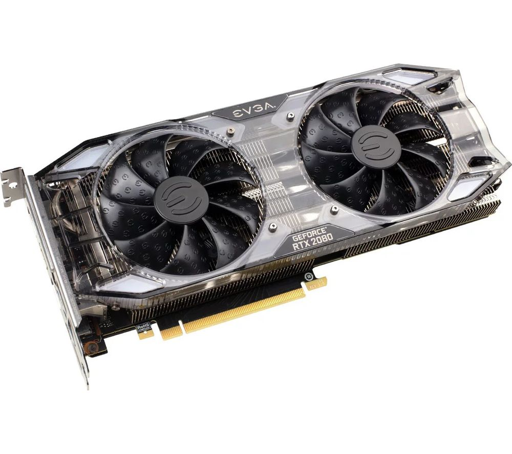 EVGA GeForce RTX 2080 8 GB XC GAMING Turing Graphics Card