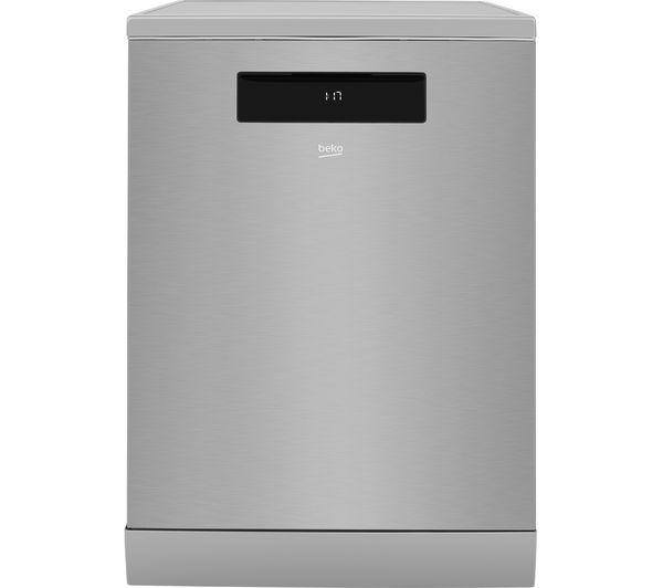 BEKO Pro AutoDose DEN59420DX Full-size Smart Dishwasher - Stainless Steel