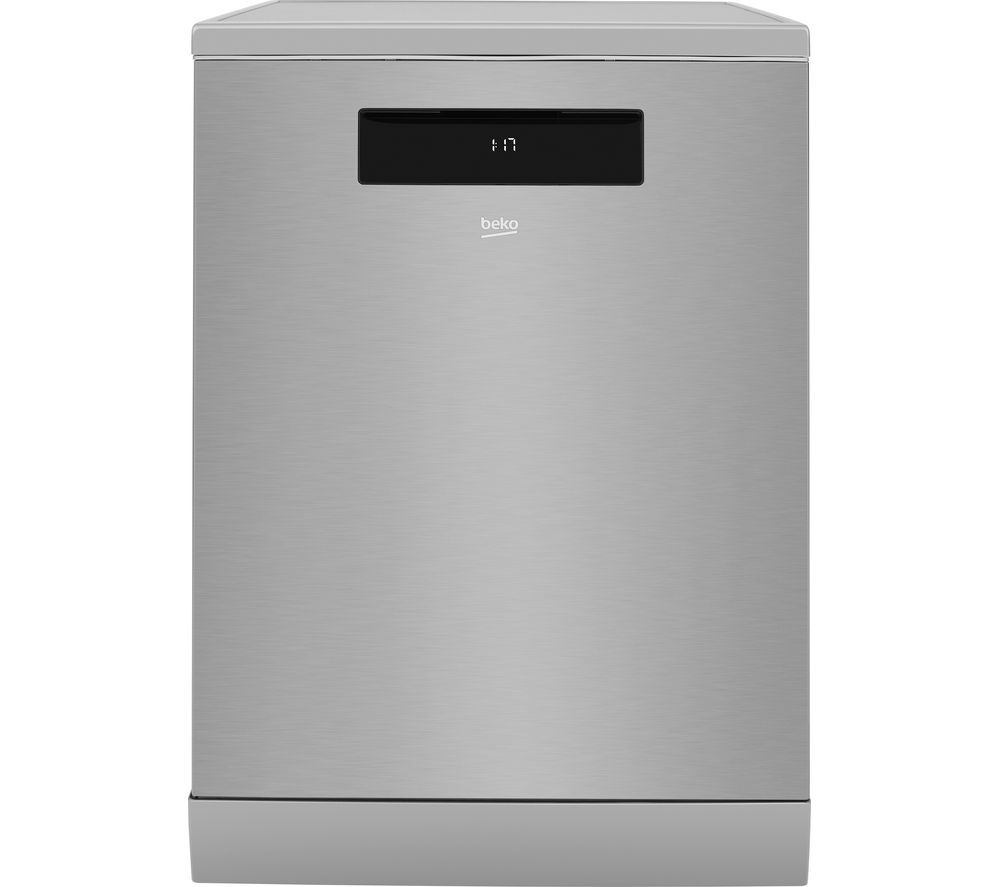 BEKO Pro AutoDose DEN59420DX Full-size Smart Dishwasher - Stainless Steel