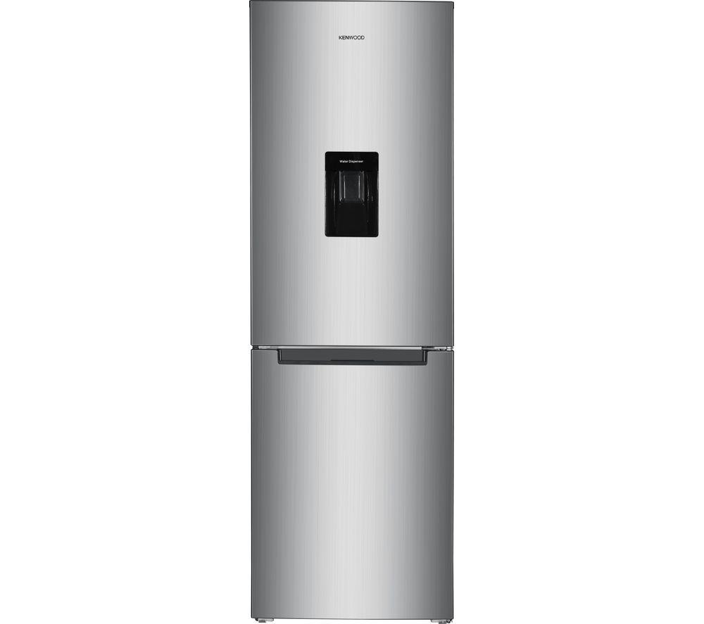 KENWOOD KNFD60X19 60/40 Fridge Freezer - Inox