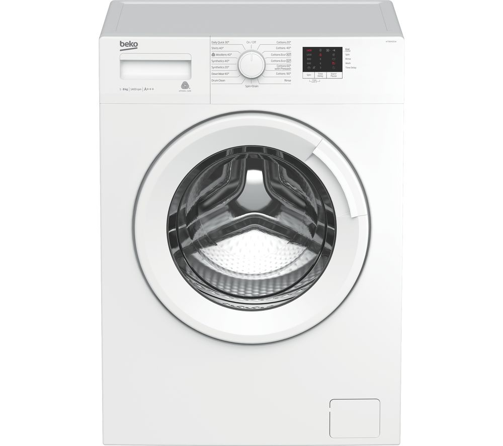 BEKO WTB840E1W 8 kg 1400 Spin Washing Machine – White